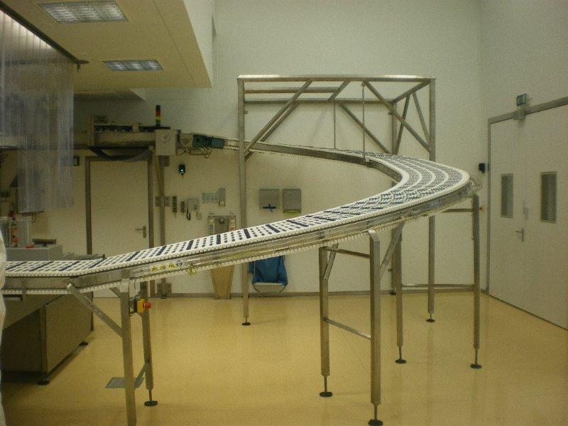 Helical incline conveyor
